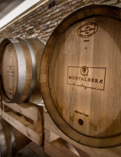 Botti presso l'Azienda Montalbera, Castagnole Monferrato, Piemonte