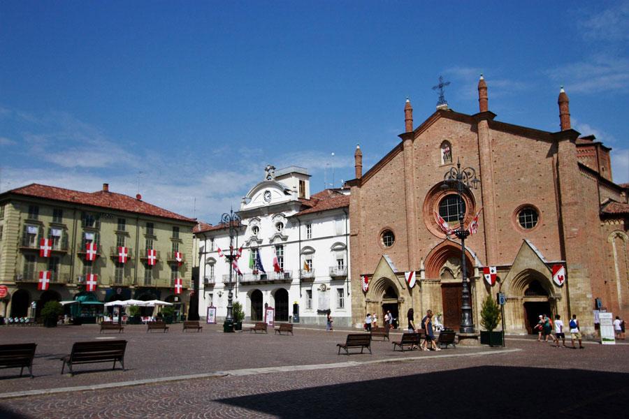 Collegiata di San Secondo, Asti, Piemonte