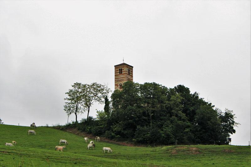 Intorno alla Chiesa di San Nazario e Celso, Montechiaro, Asti, Piemonte