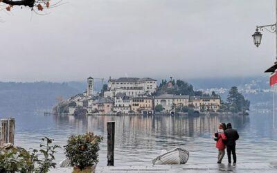 Tramonto al Lago d'Orta: inaspettate emozioni