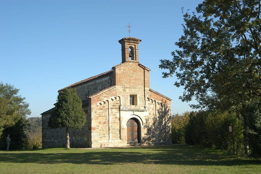 Pieve romanica, San Secondo di Cortazzone, Asti, Piemonte