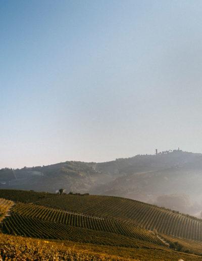 Vista Matteo Soria Winery, Castiglione Tinella, Langhe, Piemonte