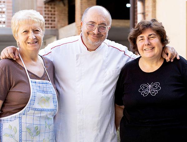 Nella cucina del Ristorante La Raviola Galante, Scurzolengo, Monferrato, Piemonte